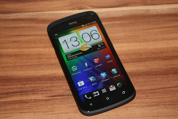 HTC One S ausgepackt und erster Eindruck (Video)