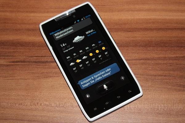 Motorola RAZR Android 4.1.2 Update wird ausgerollt