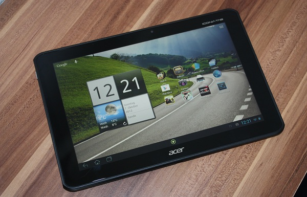 Acer Iconia A700 mit Android 4.1 Jelly Bean überzeugt im Test (Videos)