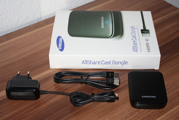 Samsung AllShare Cast Dongle mit dem Galaxy Note 2 im Test (Video)
