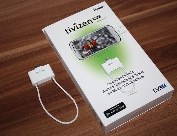 Icube Tivizen Pico Android DVB-T Empfänger im Test (Video)