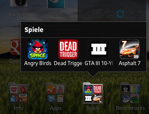 Sony Xperia T im Spiele und Gaming Test (Video)
