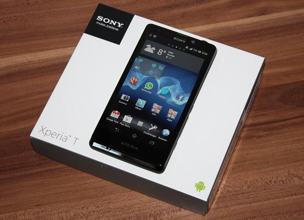 Sony Xperia T ausgepackt und erster Eindruck (Video)