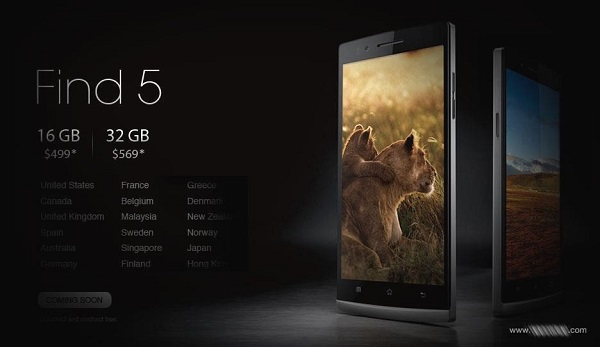Oppo Find 5 FB