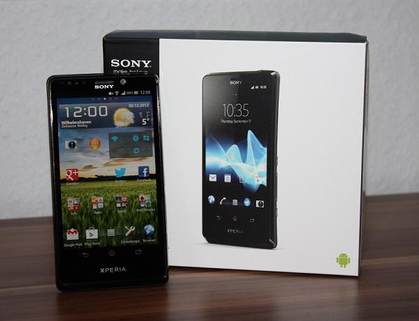 Sony Xperia T im Test – Tolle Verarbeitung aber schwaches Display
