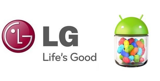 Android 4.1 Updates für das Optimus 4X HD, L7 und L9 im März