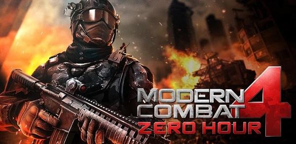 Modern Combat 4: Zero Hour für nur 89 Cent