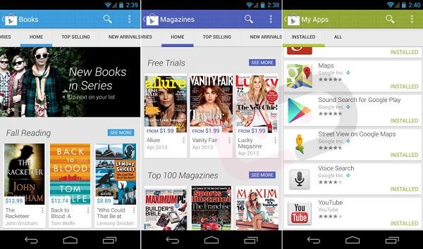 Vorschau: Google Play Store 4.0 im Video