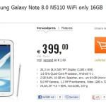 Samsung Galaxy Note 8.0 ab nächster Woche für ab 399€ verfügbar
