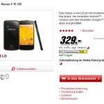 Deal: Nexus 4 mit 16 GB bei Media Markt fr nur 329