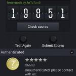 Sony Xperia Z AnTuTu