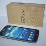 Samsung Galaxy S4 ausgepackt und erster Eindruck