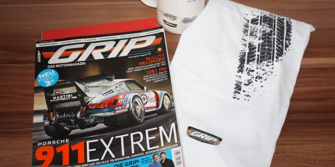 GRIP – Das Motormagazin angelesen
