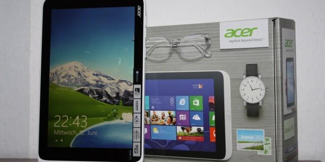 Acer Iconia W3 ausgepackt und erster Eindruck (Video)
