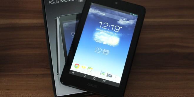 Asus MeMO Pad HD 7 ausgepackt und erster Eindruck (Video)
